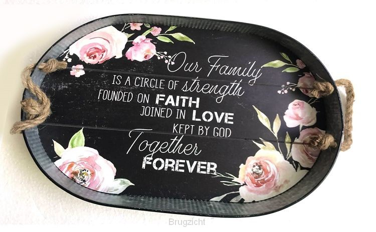 Our family is a circle of strength...