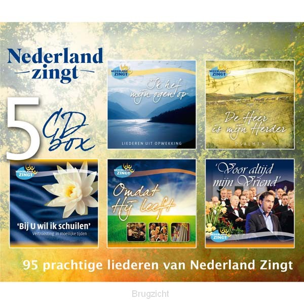 5-CD box Nederland zingt