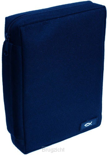 Fish - Navy - Medium- Polyester