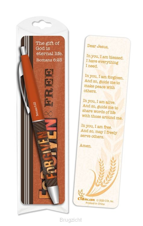 Pen/Bookmark Forgiven & Free