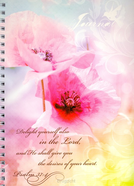 Softcover journal flower delight yoursel