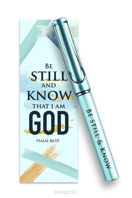 Pen/Bookmark Be still & know