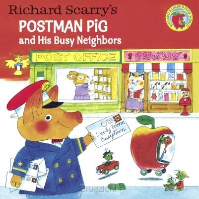 Richard Scarry's Postman Pig and His Bus