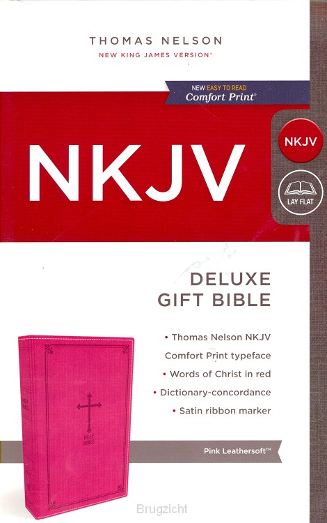 NKJV, Deluxe Gift Bible, Leathersoft, Pi