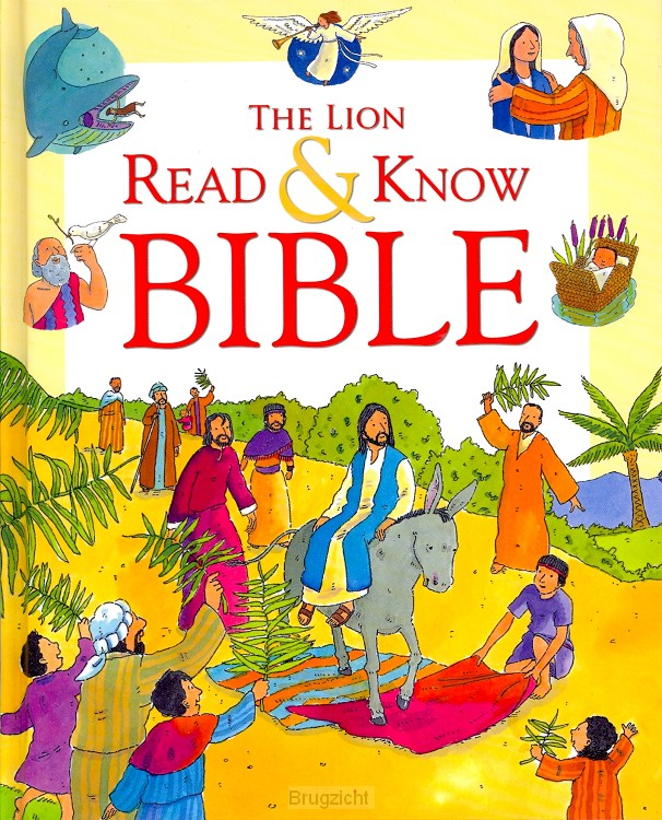 The Lion Red & Know Bible