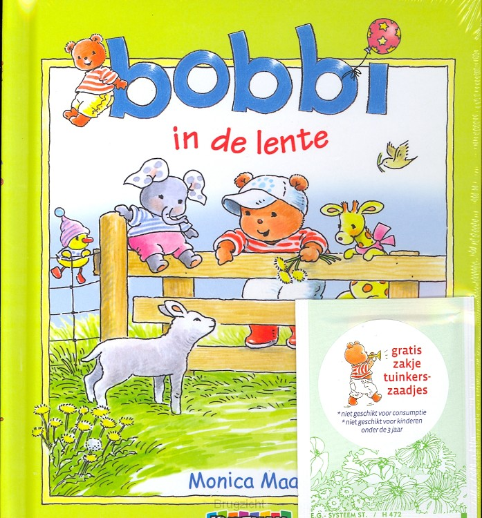 Bobbi in de lente