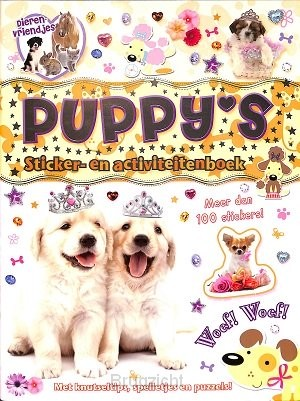 Puppy's stickerboek
