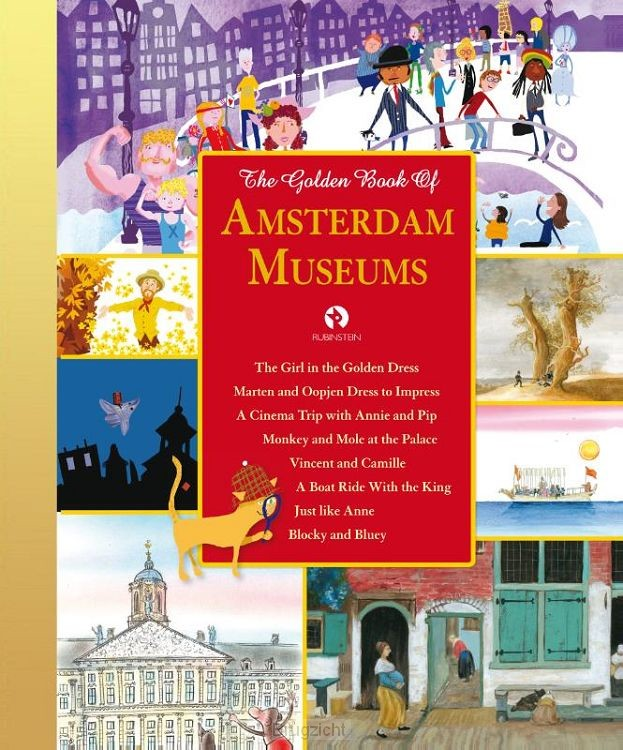 The Golden Book of Amsterdam Museums