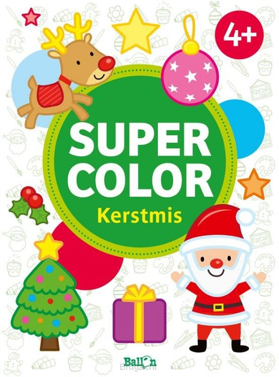 Super color Kerstmis