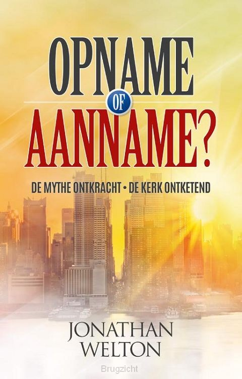 Opname of aanname?